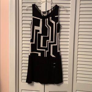 Black & White Semi-Formal Dress